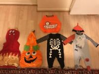 5 Funky Halloween Costumes - Different Sizes - Clean and Washed