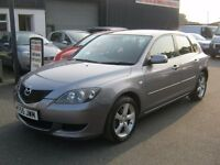 MAZDA 3 TS 2 DIESEL 1.6,1 FORMER KEEPER,12 MONTHS MOT,RUNS &DRIVES 100% £1195