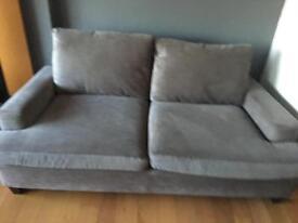 Next sonoma medium and large sofas