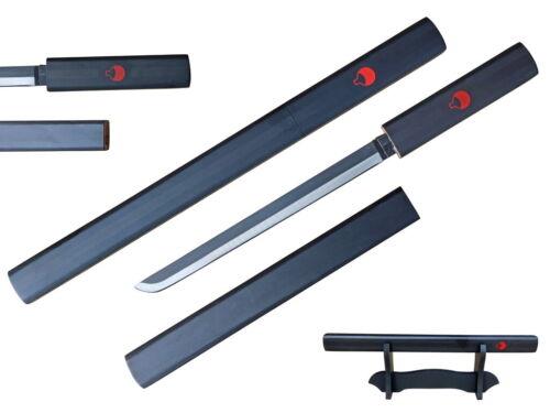 "15"" Sasuke Grass Cutter Letter Opener Dagger Samurai Sword Katana Ninja w/ Stand"