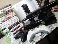 XBOX 360 KINECT SPECIAL EDITION 250GB+LOADS OF GAMES
