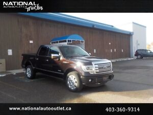 2013 Ford F-150 Platinum Ecoboost | Sunroof | Leather | Nav |