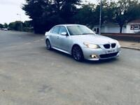 BMW 525D M SPORTS-2005-DIESEL-AUTOMATIC-FULL LEATHER-1 YEAR MOT-FULL POWER-CLEAN IN OUT-RUN LIKE NEW
