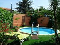 Charming villa to rent. 2 bedrooms. Pool and garden. South of France (34370 MARAUSSAN)
