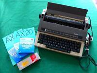 BROTHER Electronic typewriter
