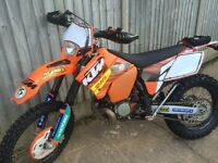 Ktm 200 registered as 125 road legal with cbt learner plates
