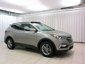 2017 Hyundai Santa Fe SPORT! LOW KMs!! 4WD Sunroof! Alloys! Blue