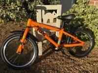 Orange Frog 48 bike and tag along attachment if wanted
