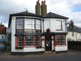 Live in Chef Plus General Assistant Partner required for Small Country Pub 25 minutes to London