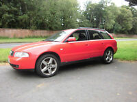 Audi A4 1.9 TDI 2001 estate MOT April 18, well maintained good runner, priced to sell