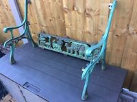 Childs Cast Iron Noahs Ark Garden Bench