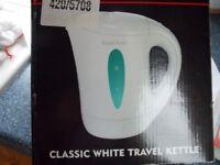 Russell Hobbs . Classic White travel kettle