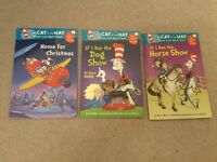 3 x The Cat In The Hat I'm Reading For Reading .....great children's books