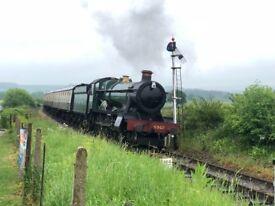 Somerset railway caravan pitch available