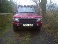Landrover Discovery 2 2002 2.5TDi S 154000 miles