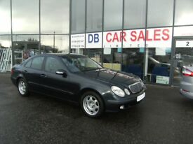 2004 04 MERCEDES-BENZ E CLASS 1.8 E200 KOMPRESSOR CLASSIC 4D 163 BHP***GUARANTEED FINANCE***PART EX