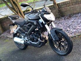 Yamaha MT125cc ABS