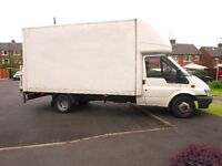 JAMIE --- SHEFFIELD MAN & VAN --- NO FUEL CHARGE FOR SHEFFIELD JOBS ---