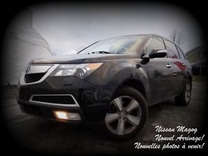 2012 Acura MDX SH-AWD + TECH PACK + TV/DVD + 7 PASSAGERS!!!