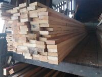 """3"""" x 1"""" timber 12ft lengths just £2 per length"""