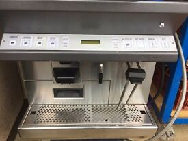 Thermaplan Black and White Commercial Coffee Machine CTS2