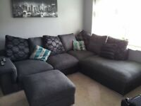 Grey sofa 2 year's old