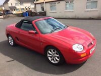 bargain low miles MG MGF CONVERTIBLE PX WELCOME £395