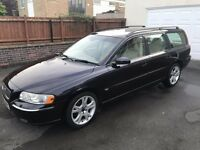 Volvo V70 2.4 SE Estate Manual Blue 2055 (55 REG) Only 35k Miles! 1 OWNER! FSH