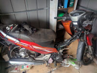 Whole honda innova 125i scooter for parts or project