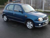 2001 Y Reg Nissan Micra 1.0 Spares or Repairs