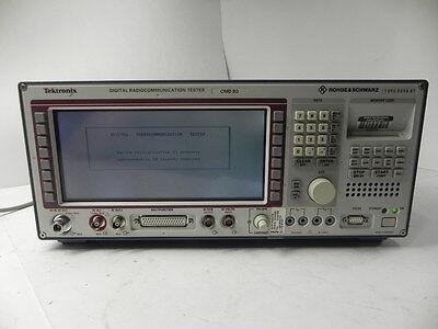 Rohde Schwarz Cmd80 Digital Radiocommunication Test Set