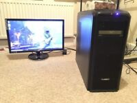 "Gaming PC with 23"" AOC LED Monitor"