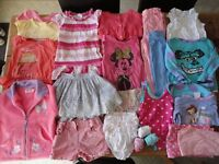 2-3 Years Girls Summer Clothes Bundle (24 items) Set A