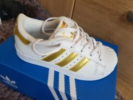 Brand new in box adidas trainers
