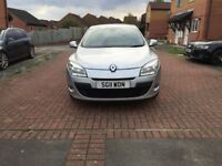 Renault Megane low mileage 56833 Mot till March 2018