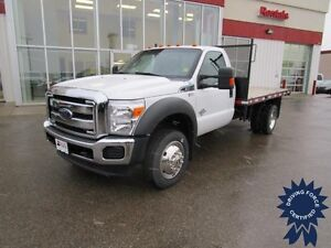 2014 Ford F-550 Super Duty XLT Regular Cab 4X4 DRW w/12' Deck