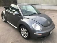 Stunning 2006 06 Volkswagen Beetle 2.0 Highline Convertible **2 Owners+History+Full Leather**