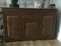 Wooden living room sideboard for sale, really good condition. From a smoke free home