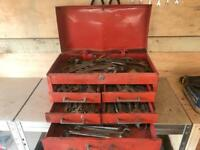 Tool box and spanners