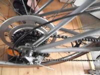 like-new custome made student bike large frame very light