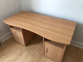 Office desk wood - Great condition