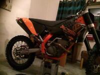 Ktm 250 sxf 2010! Swaps 250 2t or 450 £1695