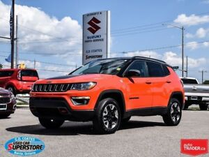 2017 Jeep Compass Trailhawk 4x4 ~Nav ~Backup Cam ~Panoramic Roof