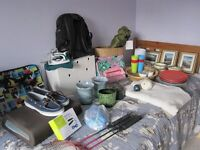 Car boot sale - job lot of household and clothing items