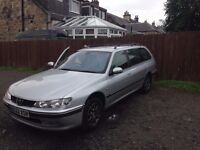 Peugeot 406 HDi Estate Silver in very good condition