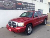 2007 Dodge Dakota SLT V8 4X4 ALLOYS LOADED (CERTIFIED)