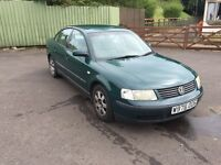 VW Passat 1.8T with tow bar