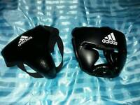 Boxing helmet & protection gear