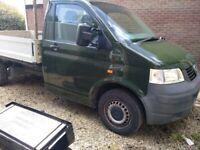 VW TRANSPORTER T5 LONG WHEELBASE PICKUP