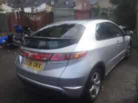 2006 Honda Civic petrol 5doors with sun roof 12months mot and road tax (exchange part with Audi A4)